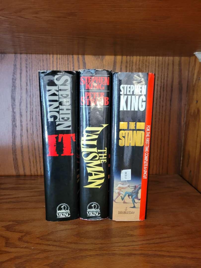 Lot # 316 (3) Hard Cover Steven King Books