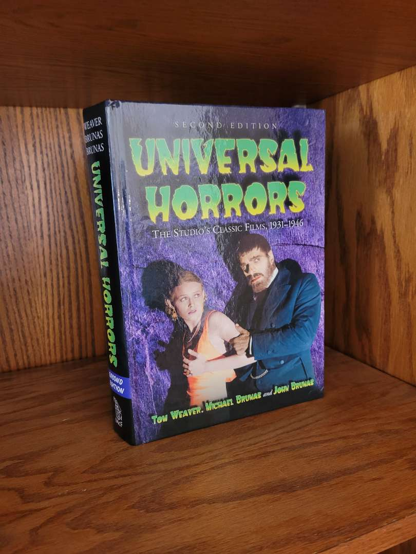 Lot # 317 Universal Monsters Book - Signed by Authors