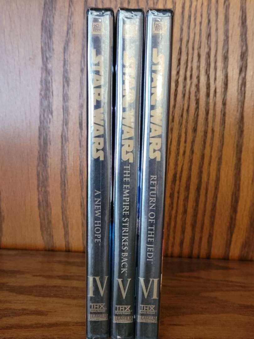 Lot # 321 Star Wars DVD Set