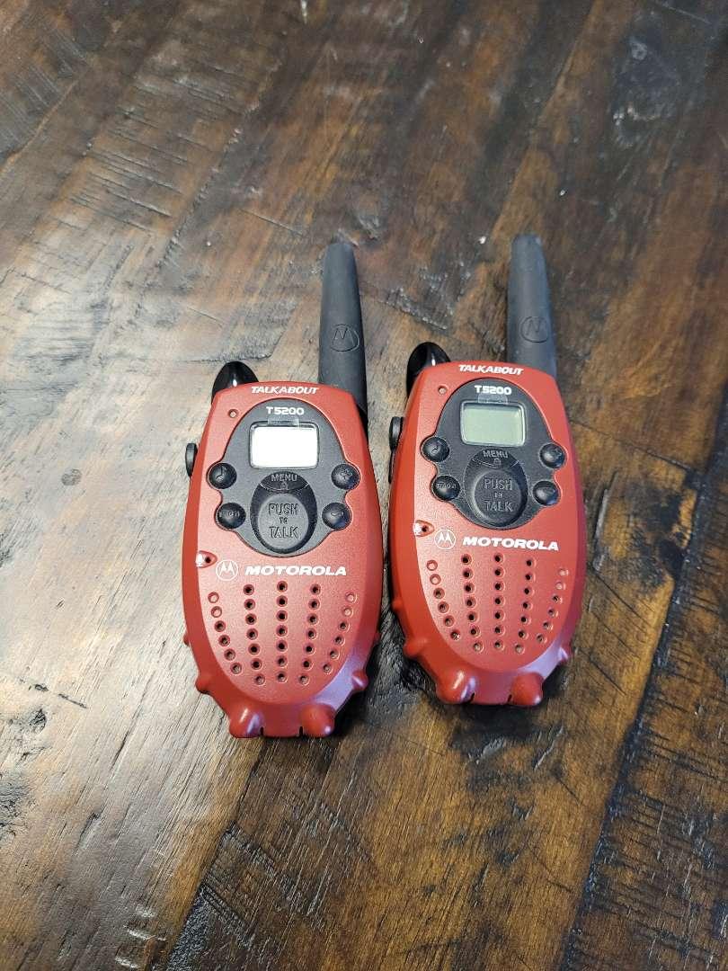 Lot # 323 Motorola Walkie-talkies