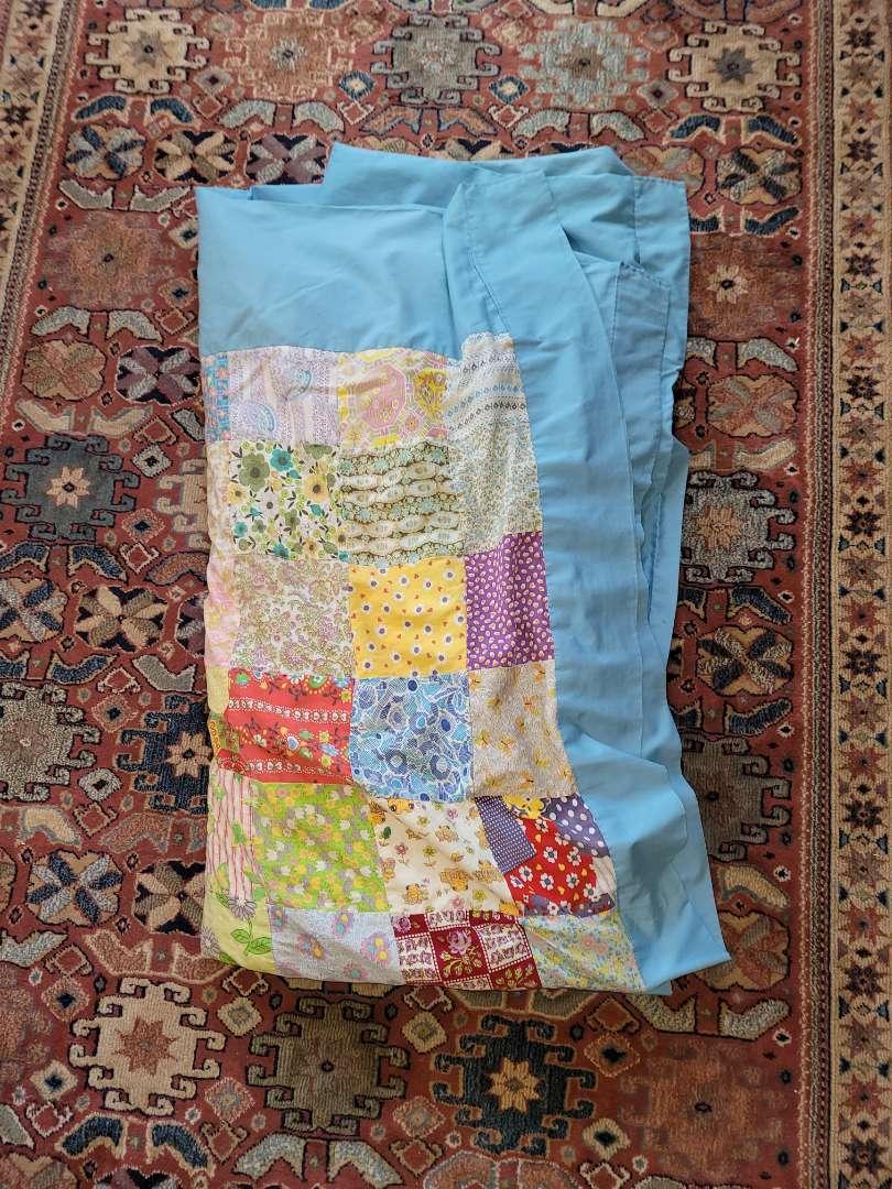 Lot # 361 Hand Made Patchwork Quilt