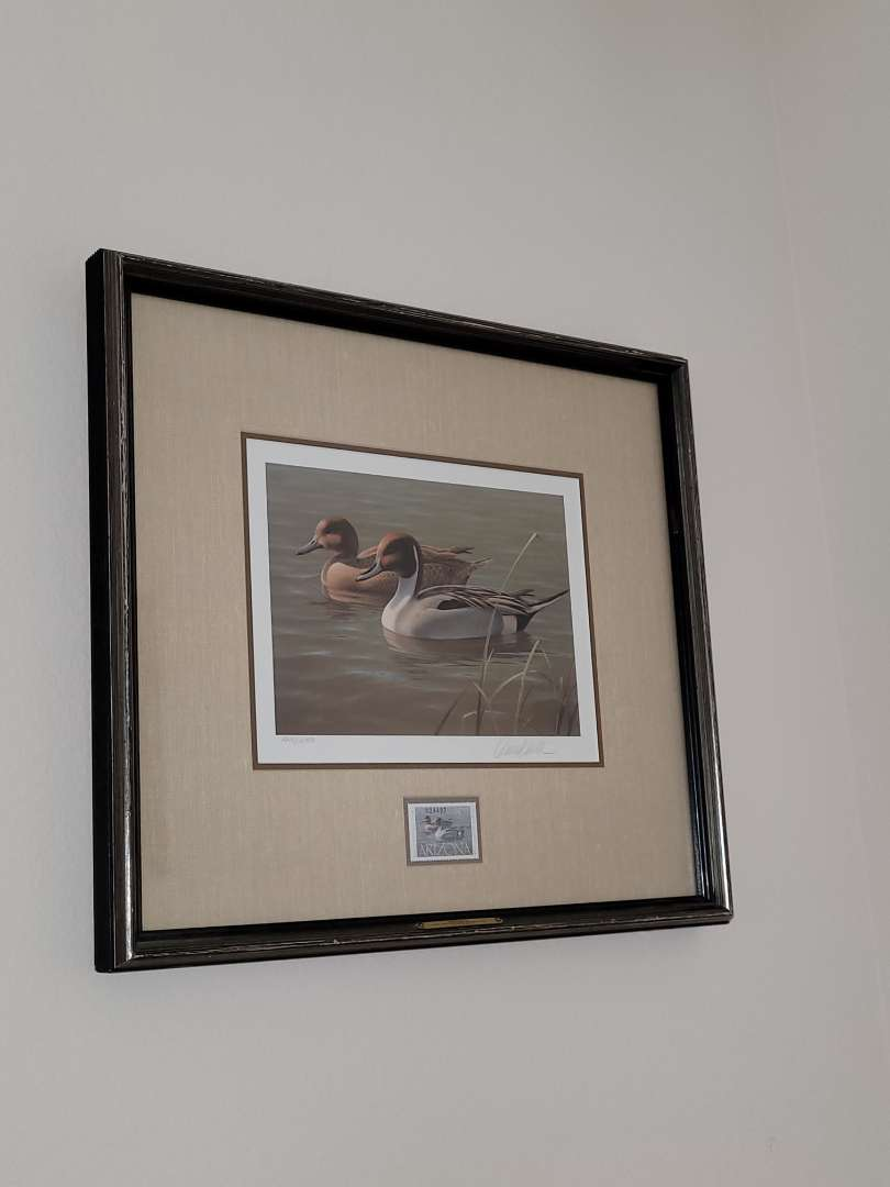 """Lot # 364 1987 Arizona Duck Stamp """"Pintails"""" Print by Dan Smith - Signed & Numbered - 1949/10400"""