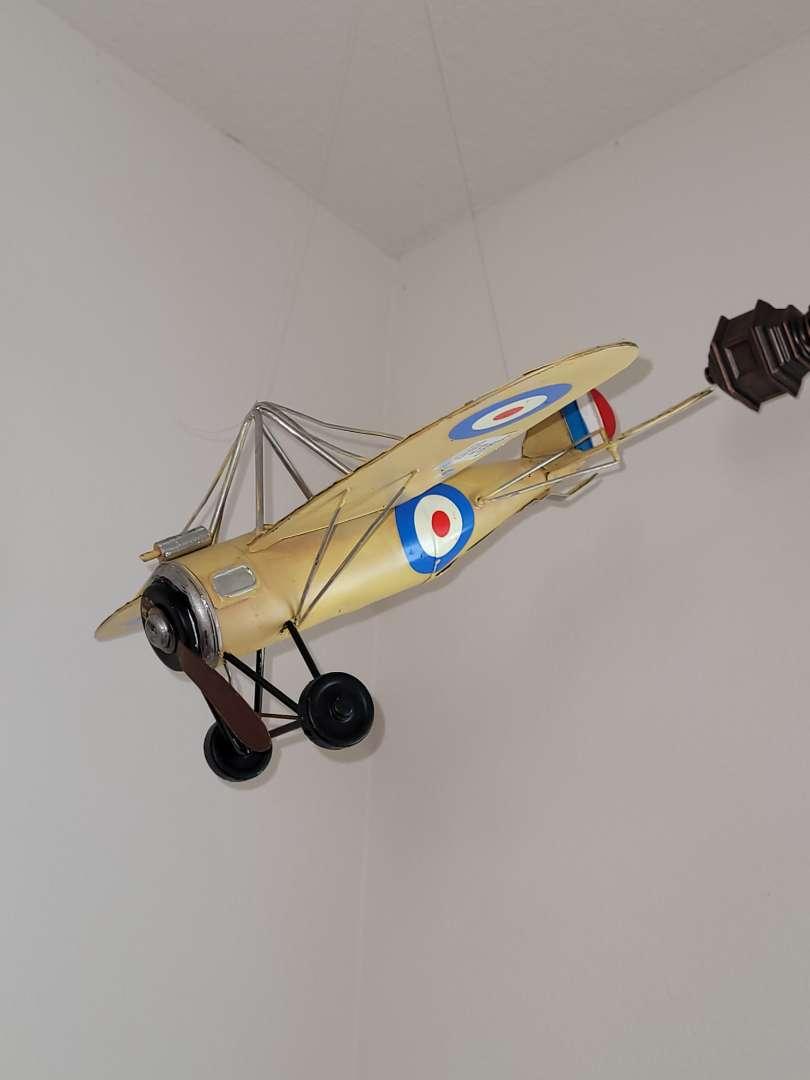 Lot # 369 Metal Model Airplane