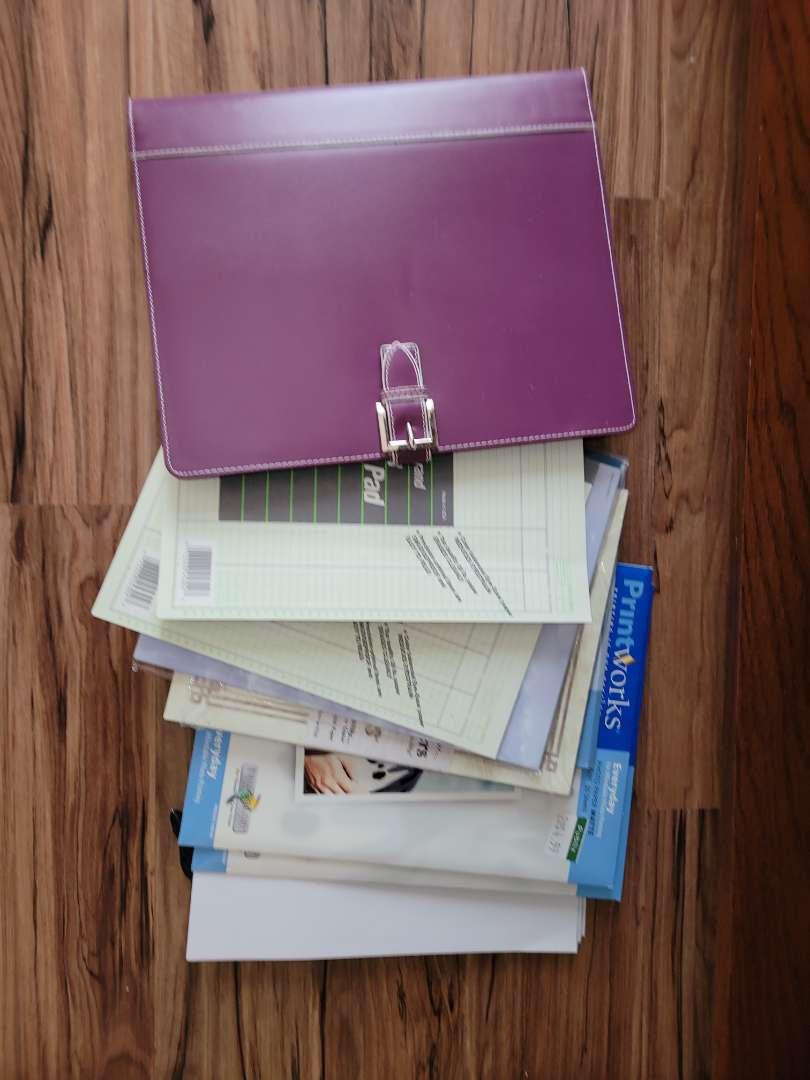 Lot # 376 Assorted Paper & Organizer
