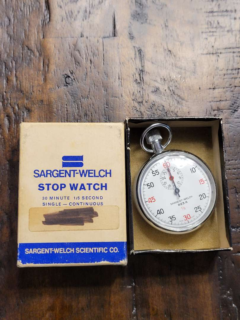 Lot # 385 Vintage Sargent- Welch Stop Watch