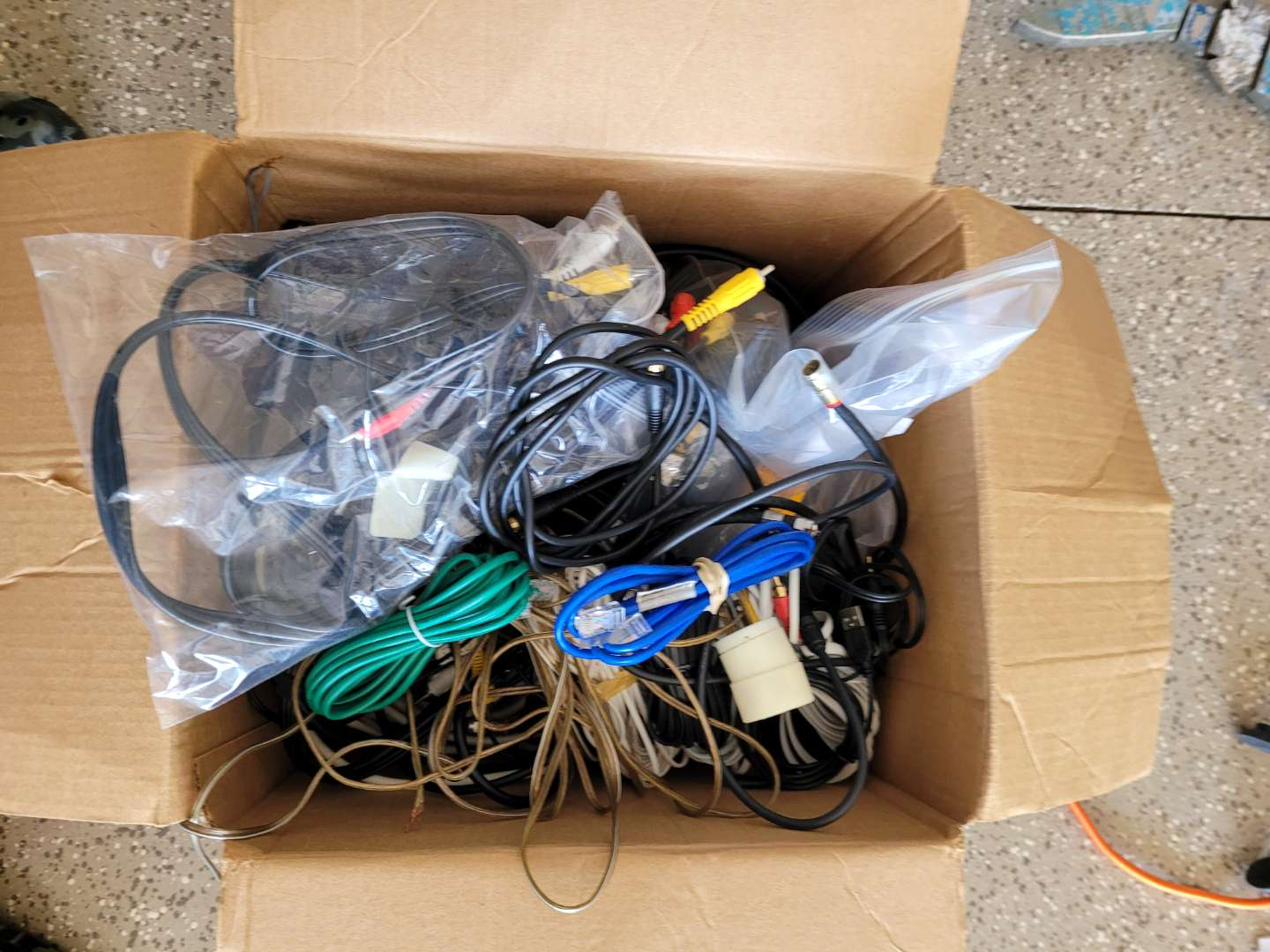 Lot # 429 Assorted Phone Wires, HDMI Cords & More
