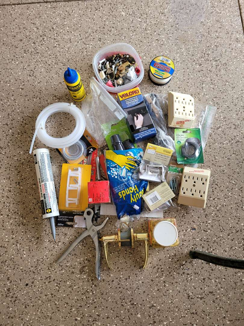 Lot # 435 Assorted Fasteners & More