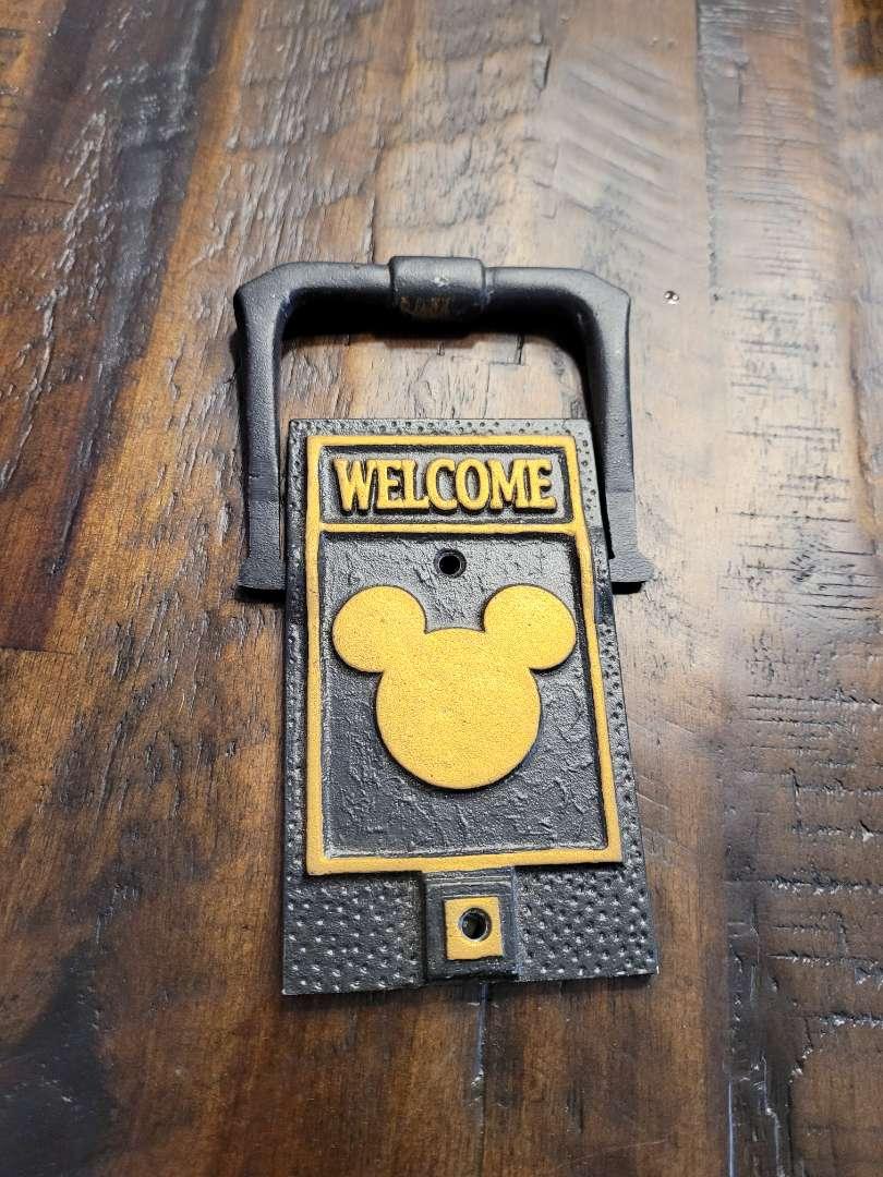 Lot # 470 Whitehall Mickey Door Knocker