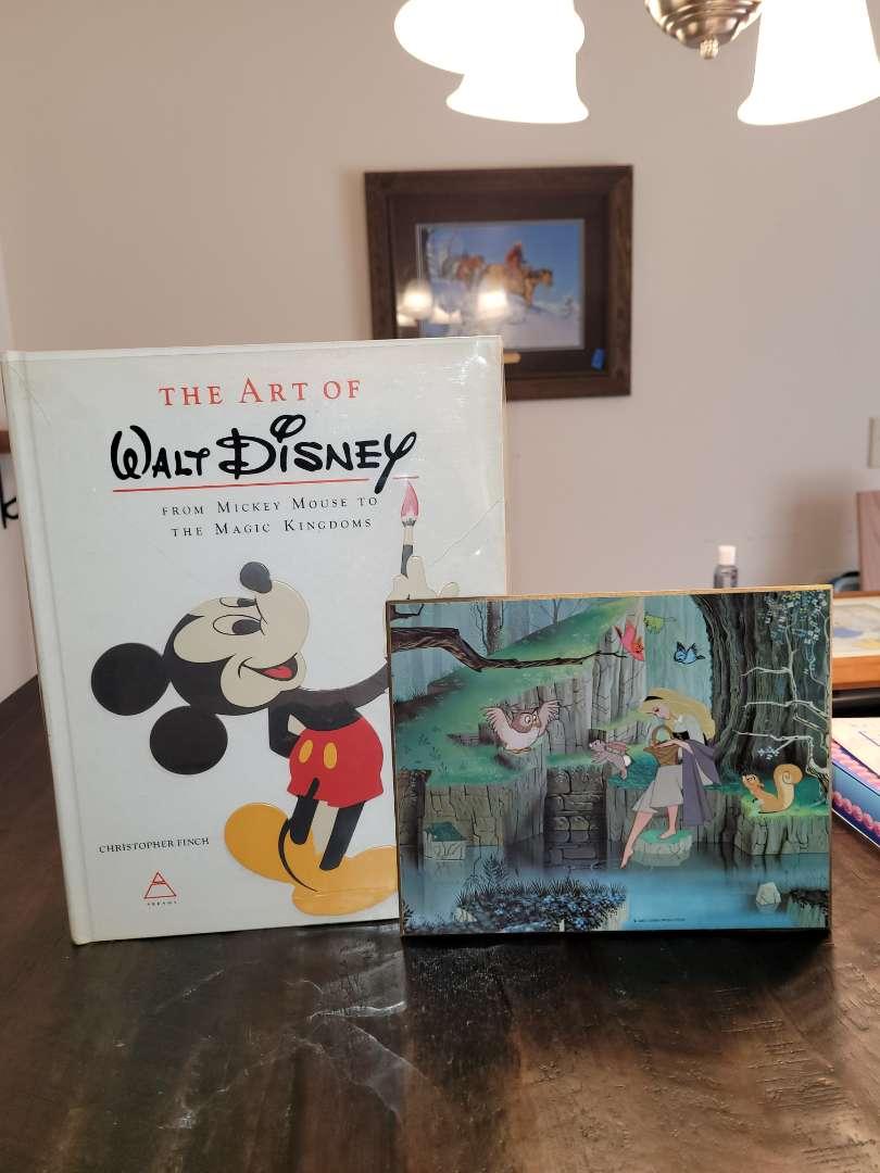 Lot # 472 Art of Disney Book & Cinderella Photo