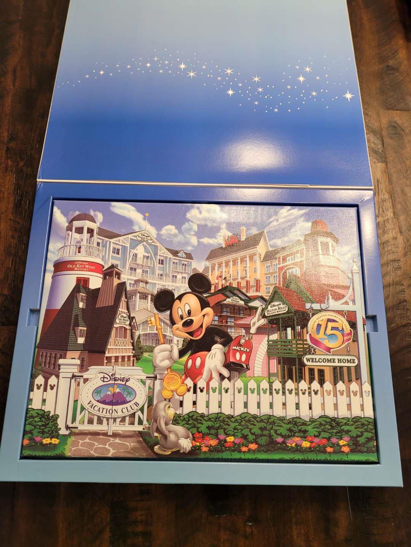 Lot # 475 Commemorative Disney Giclee Print w/ COA