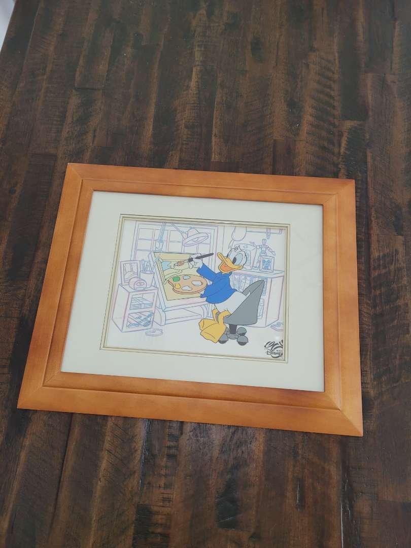 Lot # 476 Disney's Donald Duck in the Studio - Framed