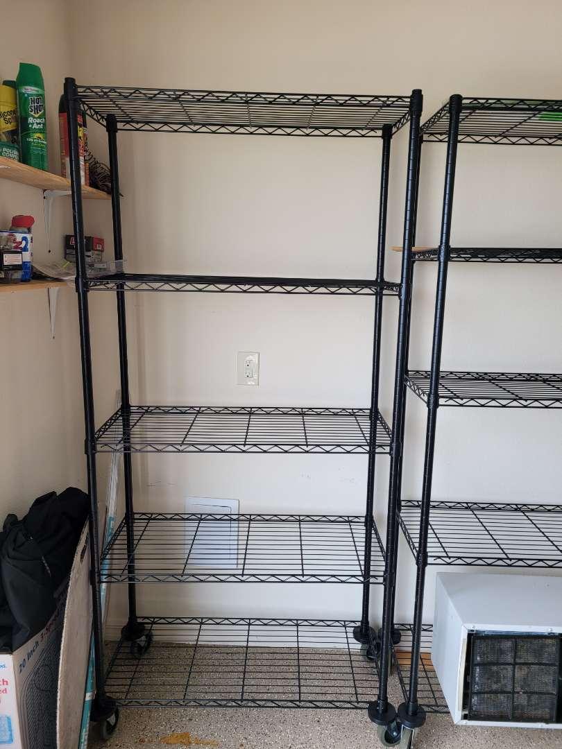 Lot # 482 Metal Storage Shelf