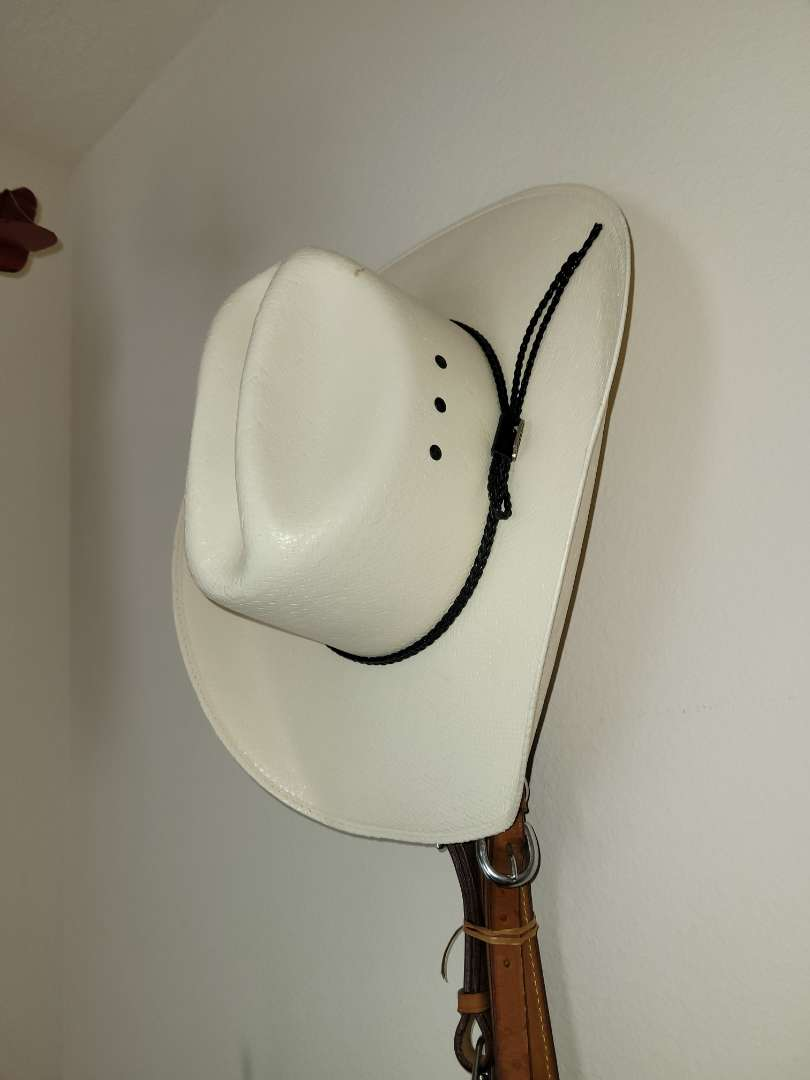 Lot # 509 Justin Cowboy Hat By Palno Hat Co.