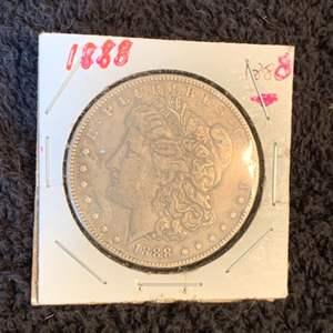 Auction Thumbnail for: Lot # 178   1888 Morgan Silver Dollar
