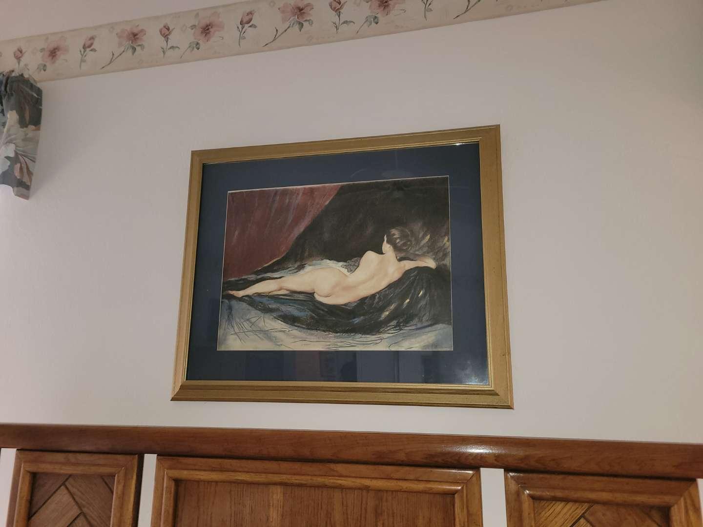 Lot # 32 Framed Lithograph - Star Princess- Venus Revisite- Martin Broadbent w/ COA