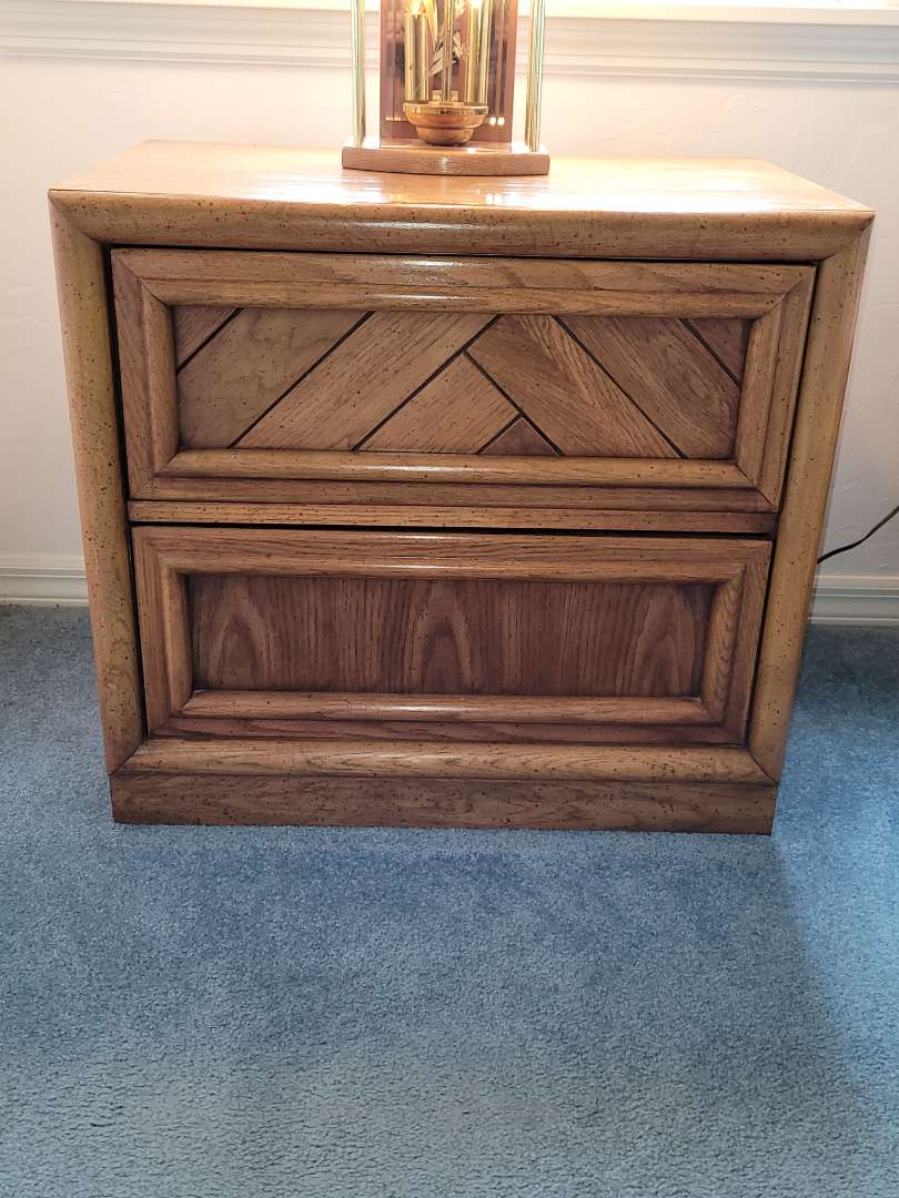 Lot # 47 Dixie Furniture Bedside Table