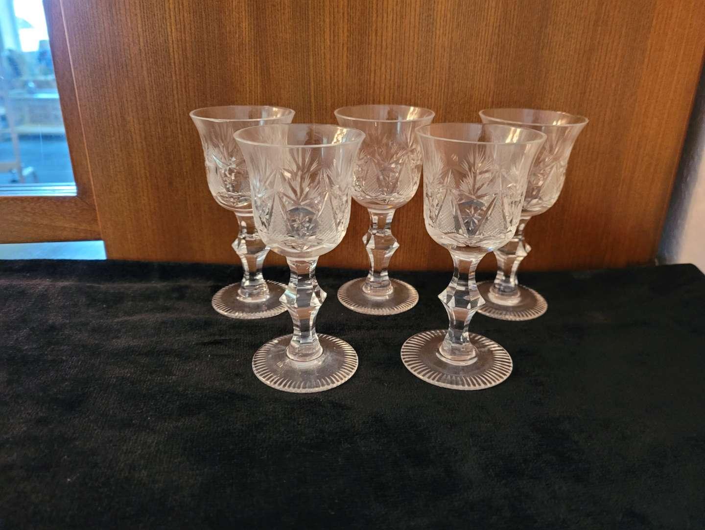 Lot # 64 (5) Vintage Glasses