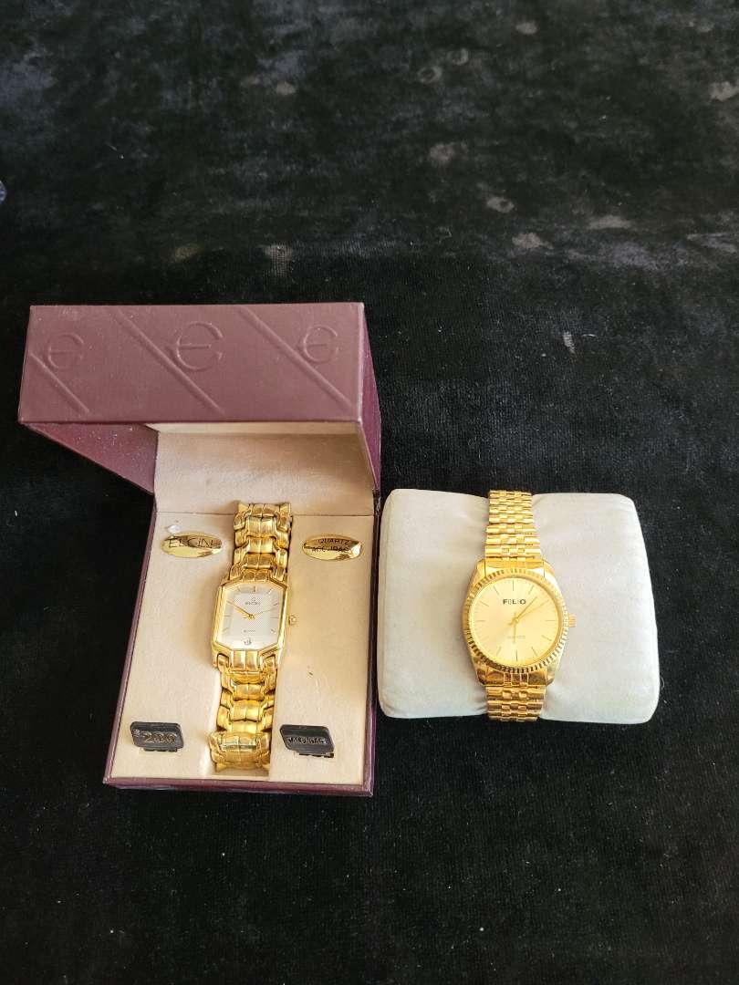 Lot # 82 Elgin & Folio Watches