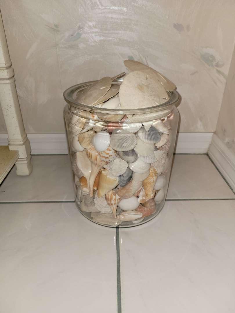Lot # 98 Big Jar of Seashells