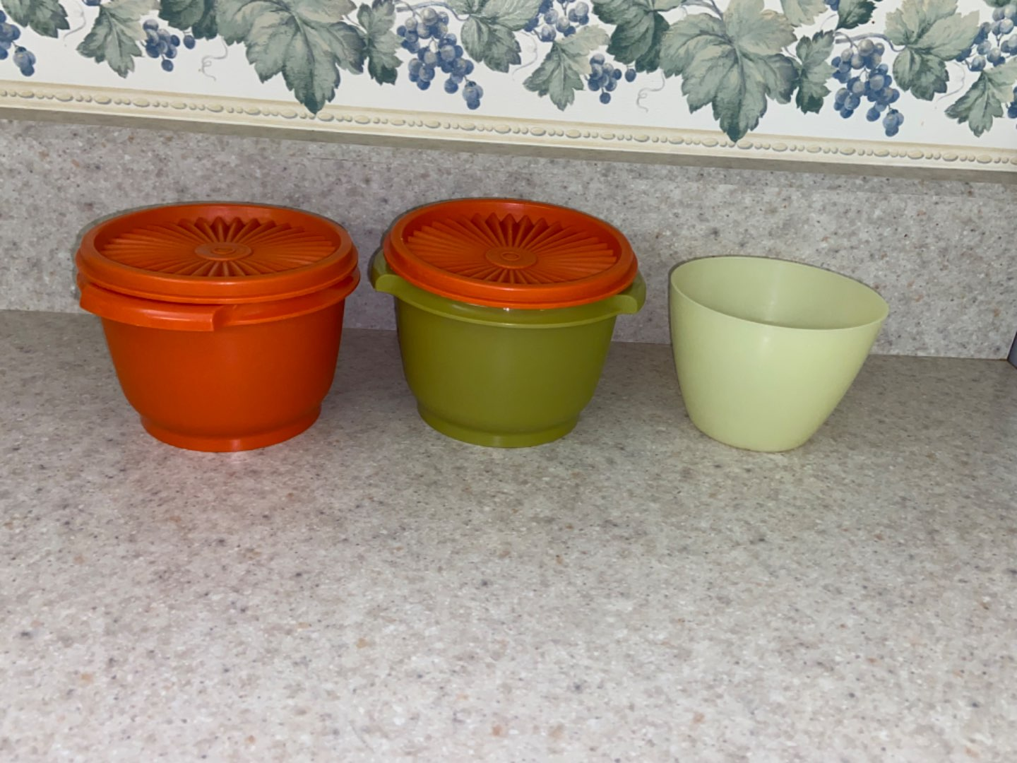 Lot # 112 Vintage Tupperware Containers (small size)
