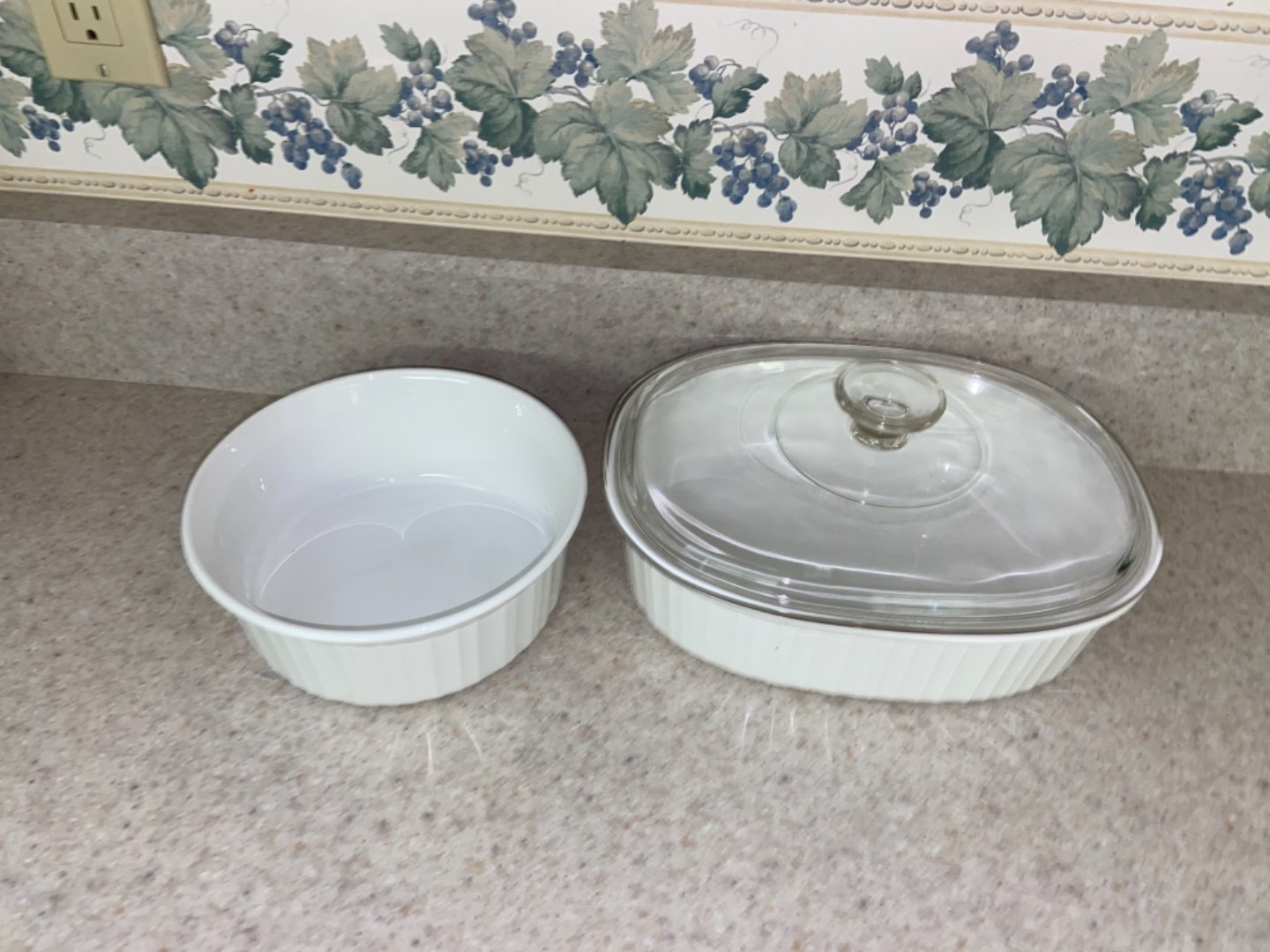 Lot # 124 Corning Ware Dishes
