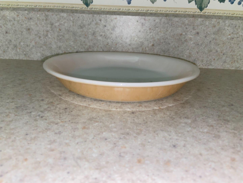 Lot # 128 Vintage Fire King Pie Plate