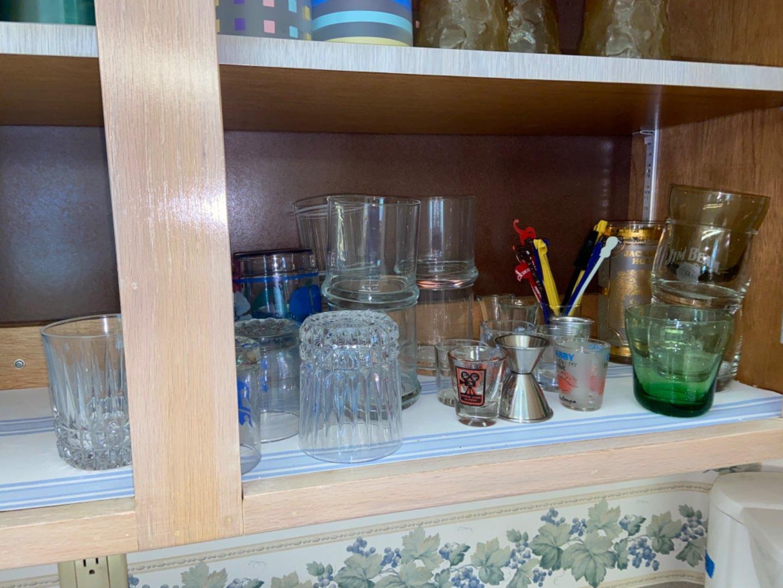 Lot # 136 Shot, Juice & More Glassware