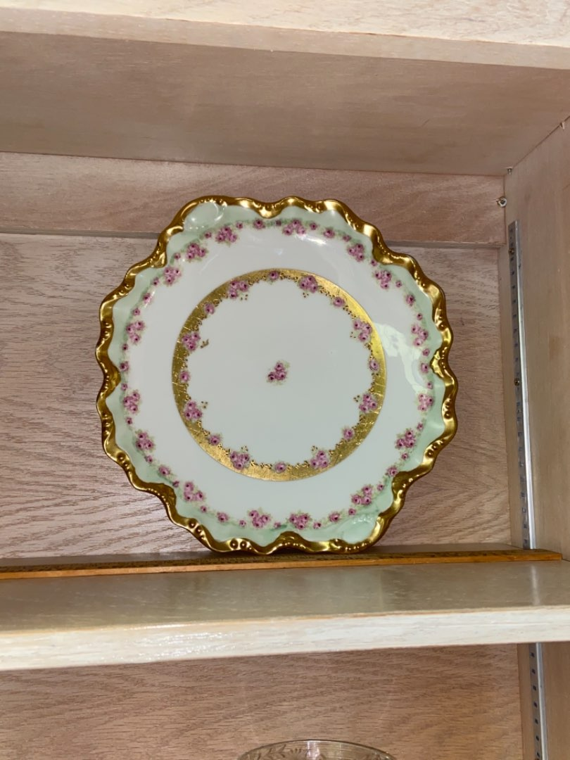 Lot # 166 Gorgeous Limoge Plate