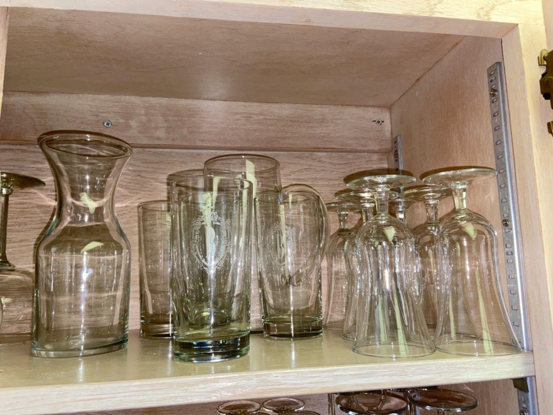Lot # 176 Misc Glassware