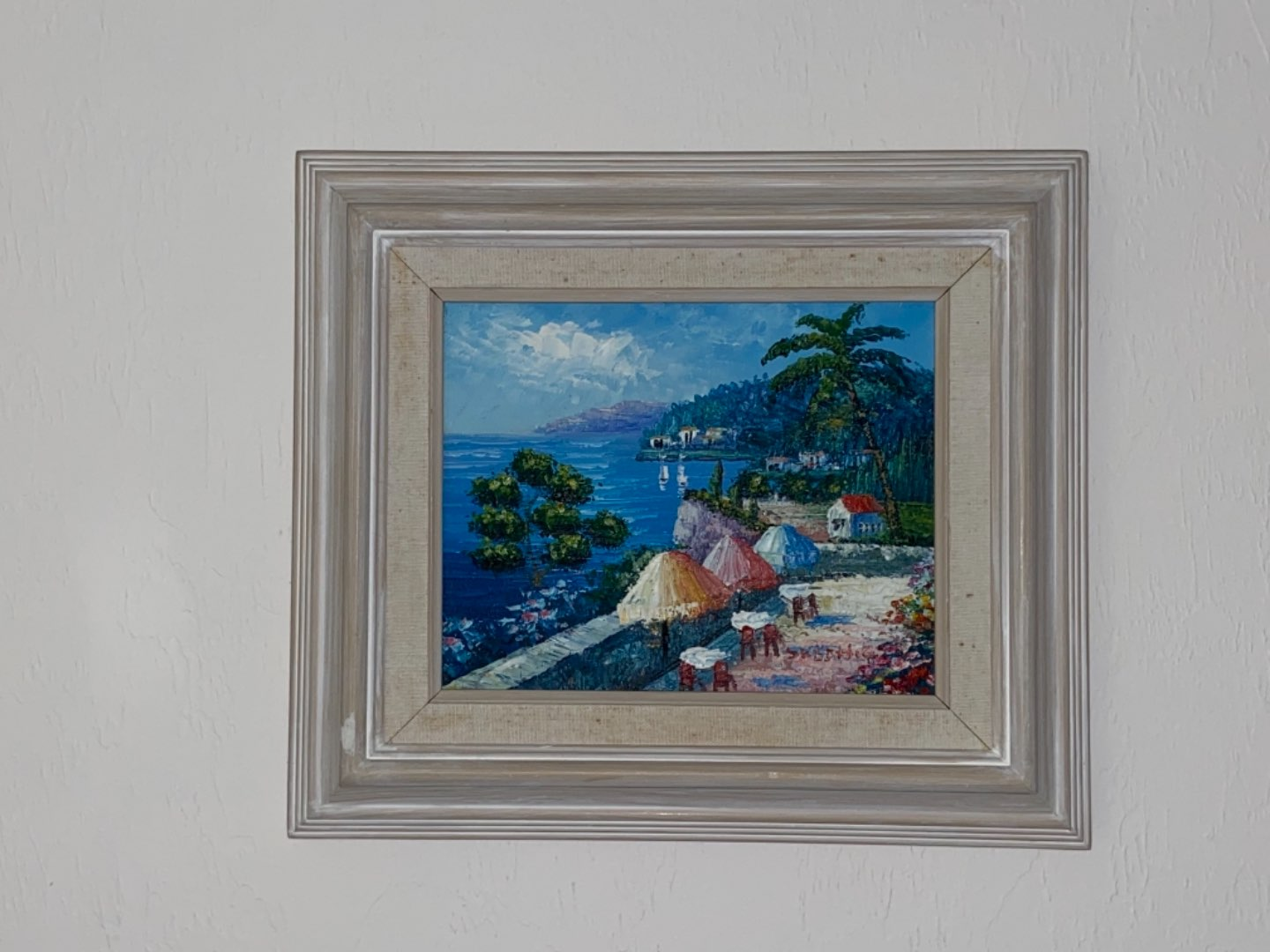 Lot # 211 Beautiful Landscape Oil on Canvas Painting - Signed