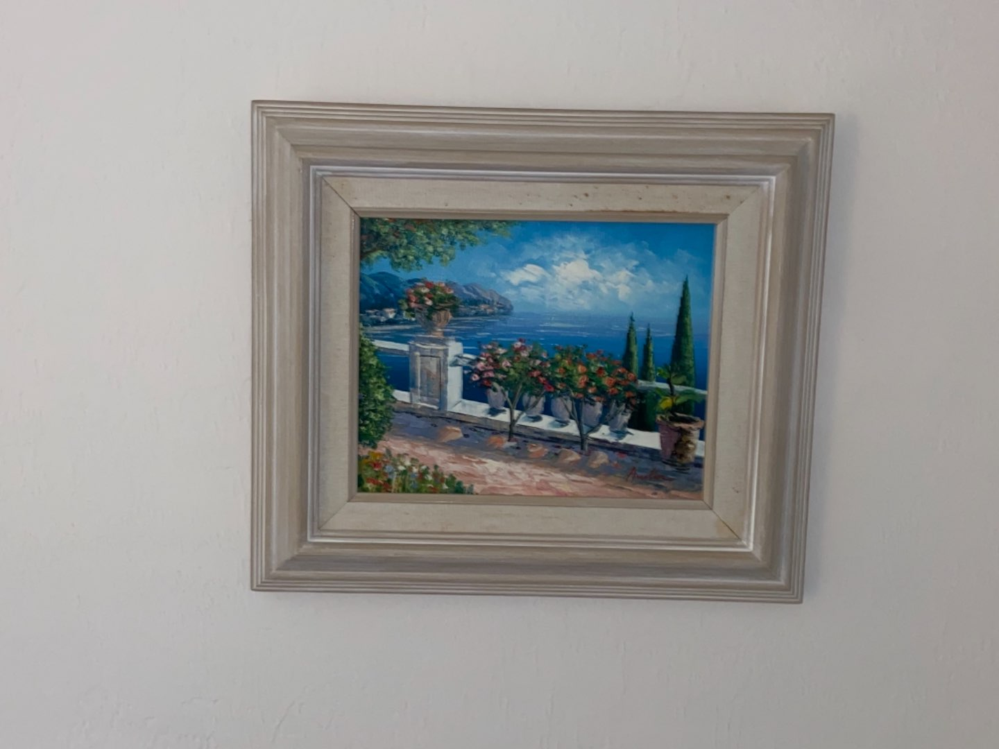 Lot # 212 Landscape Oil on Canvas Painting Signed by Artist Austin