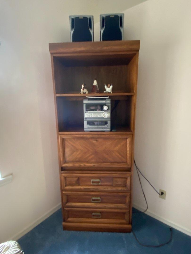 Lot # 224 Vintage Pionite Cabinet