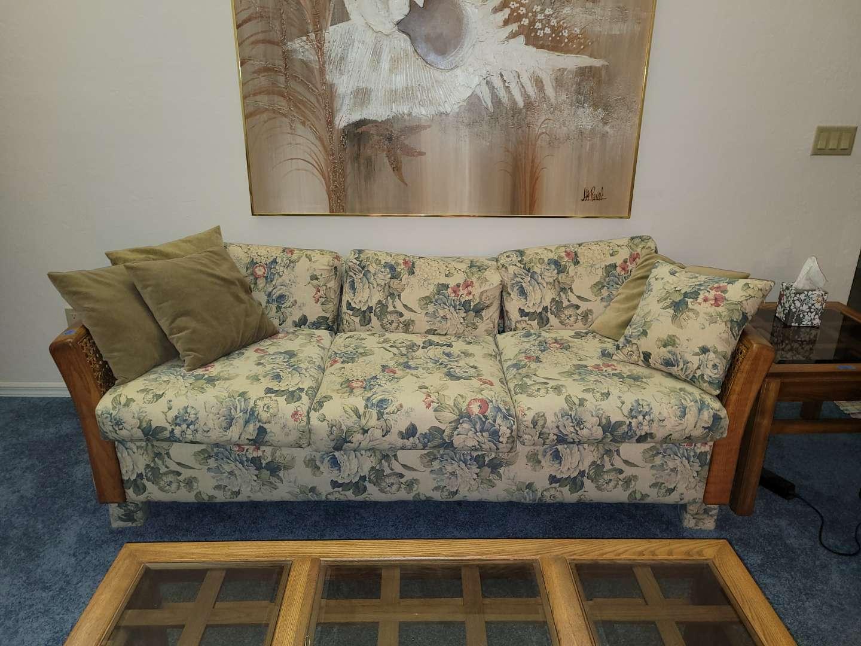 Lot # 228 Beautiful Sofa