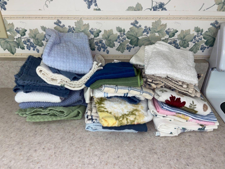 Lot # 236 Kitchen & Dish Towels