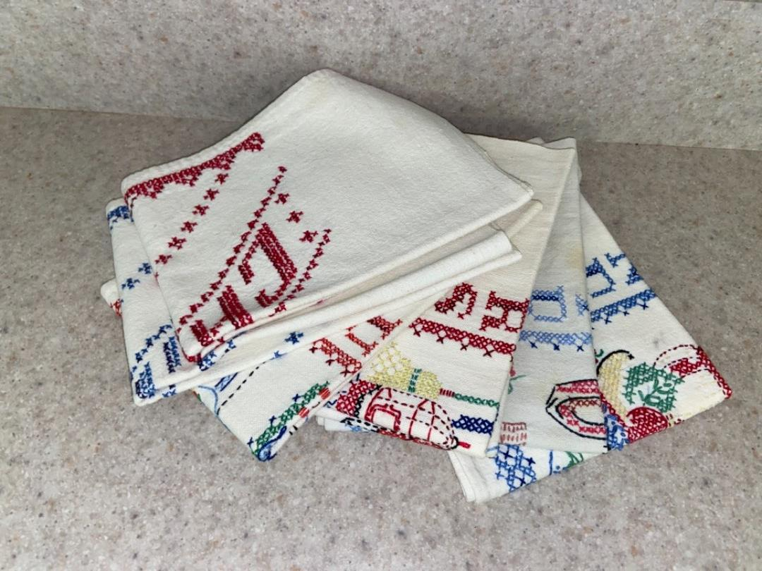 Lot # 237 Beautiful Needle Point Towels