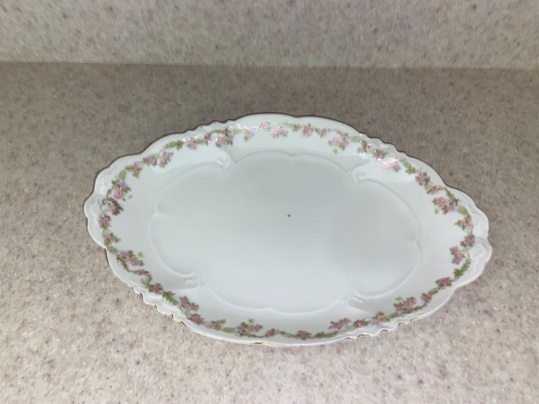 "Lot # 244 Antique Habsburg China Platter 13"""