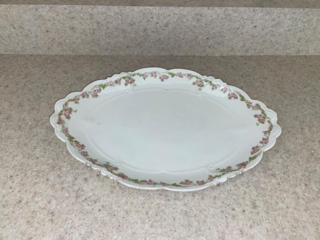 "Lot # 247 Antique Habsburg China 15"" Platter"