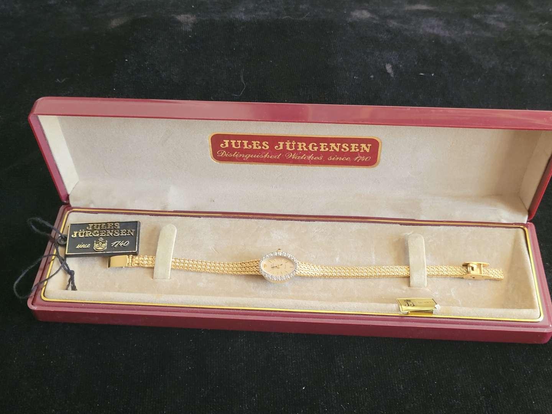 Lot # 258 Vintage Jules Jurgensen Watch