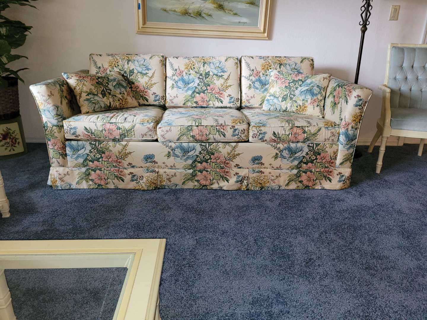 Lot # 272  Castro Convertibles Queen Size Sleeper Sofa - Like new