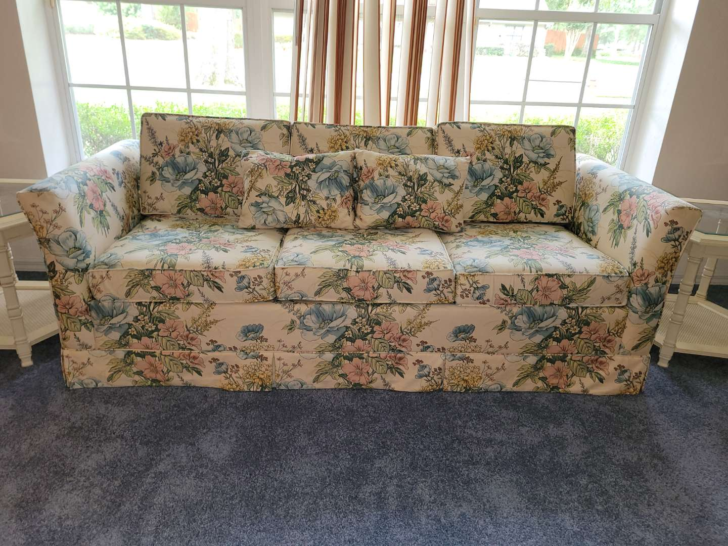 Lot # 273 Castro Convertibles Queen Size Sleeper Sofa - Like New