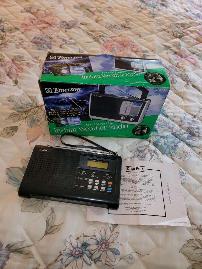 Lot # 279 (2) Weather Radios