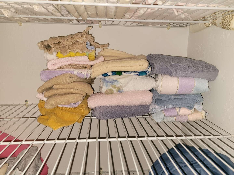 Lot # 284 Assorted Washcloths & Hand Towels