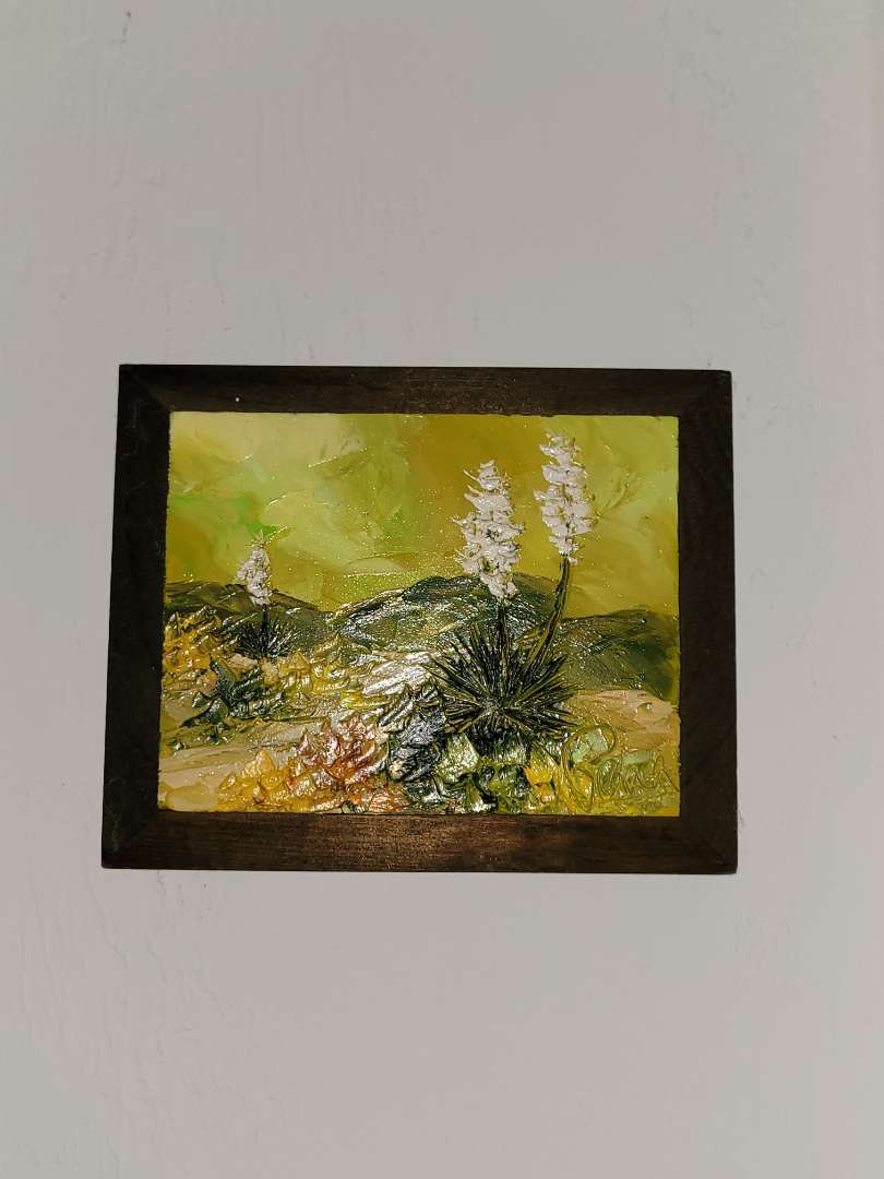 Lot # 298 Small Oil Painting- Signed Reba