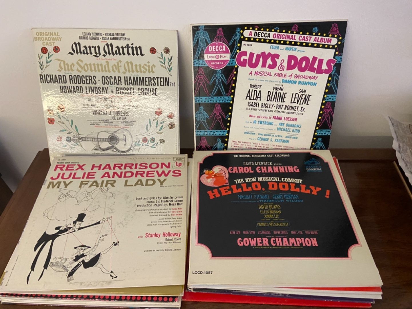 """Lot # 307 """"Musical"""" Records"""