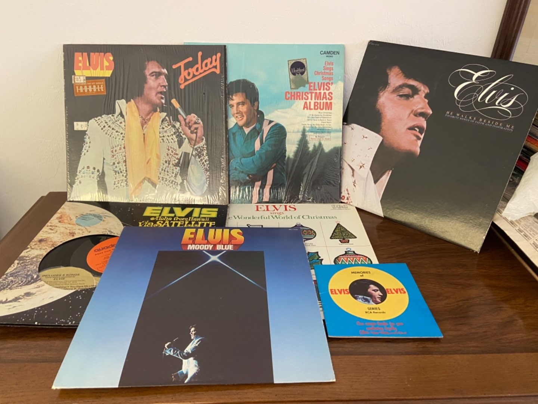 Lot # 308 Elvis Records