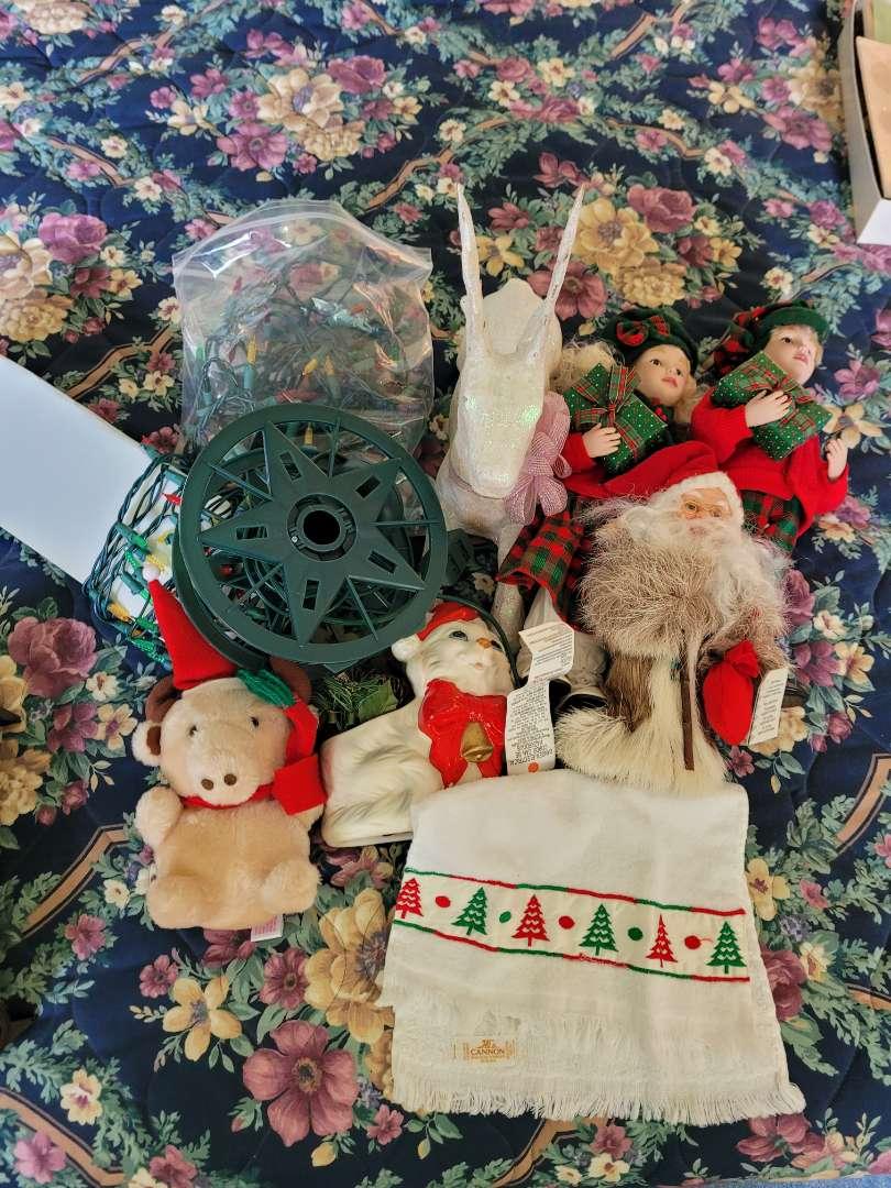 Lot # 337 Christmas Lights, Dolls & More