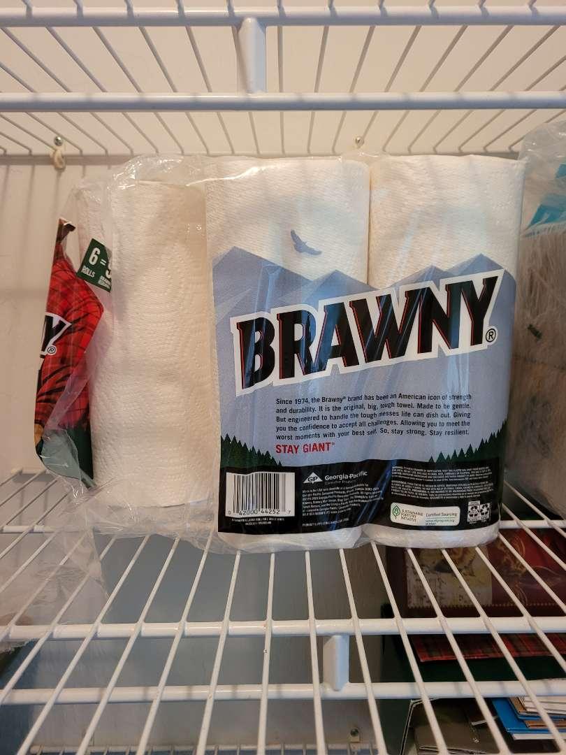 Lot # 341 (5) Rolls of Brawny Paper Towels