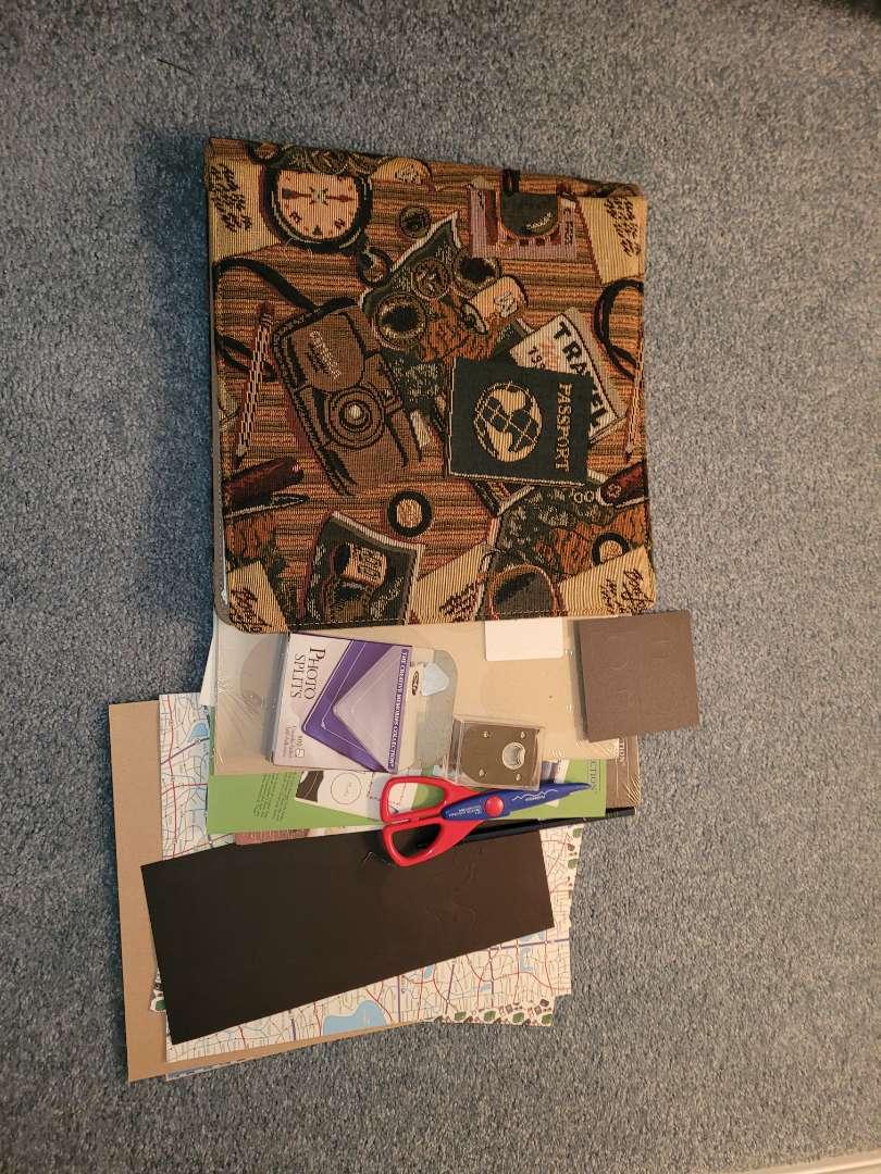 Lot # 343 Scrapbook & Scissors