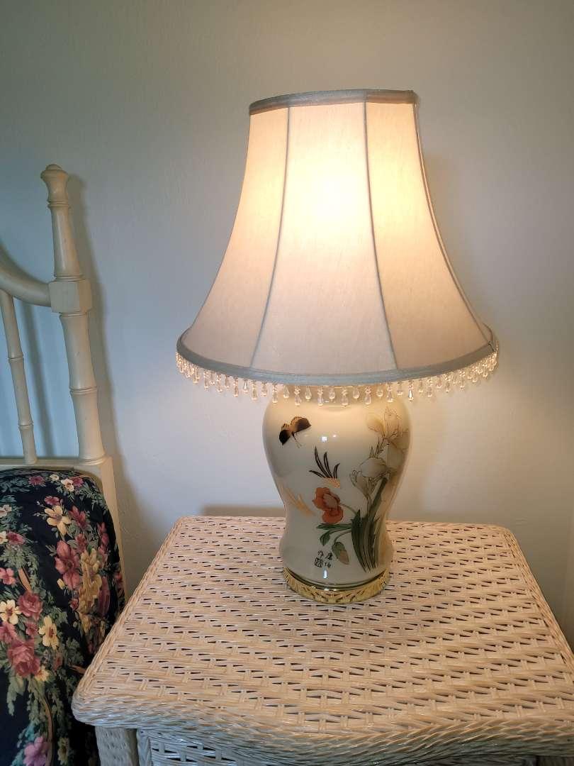 Lot # 346 Beautiful Bedroom Lamp w/ Shade