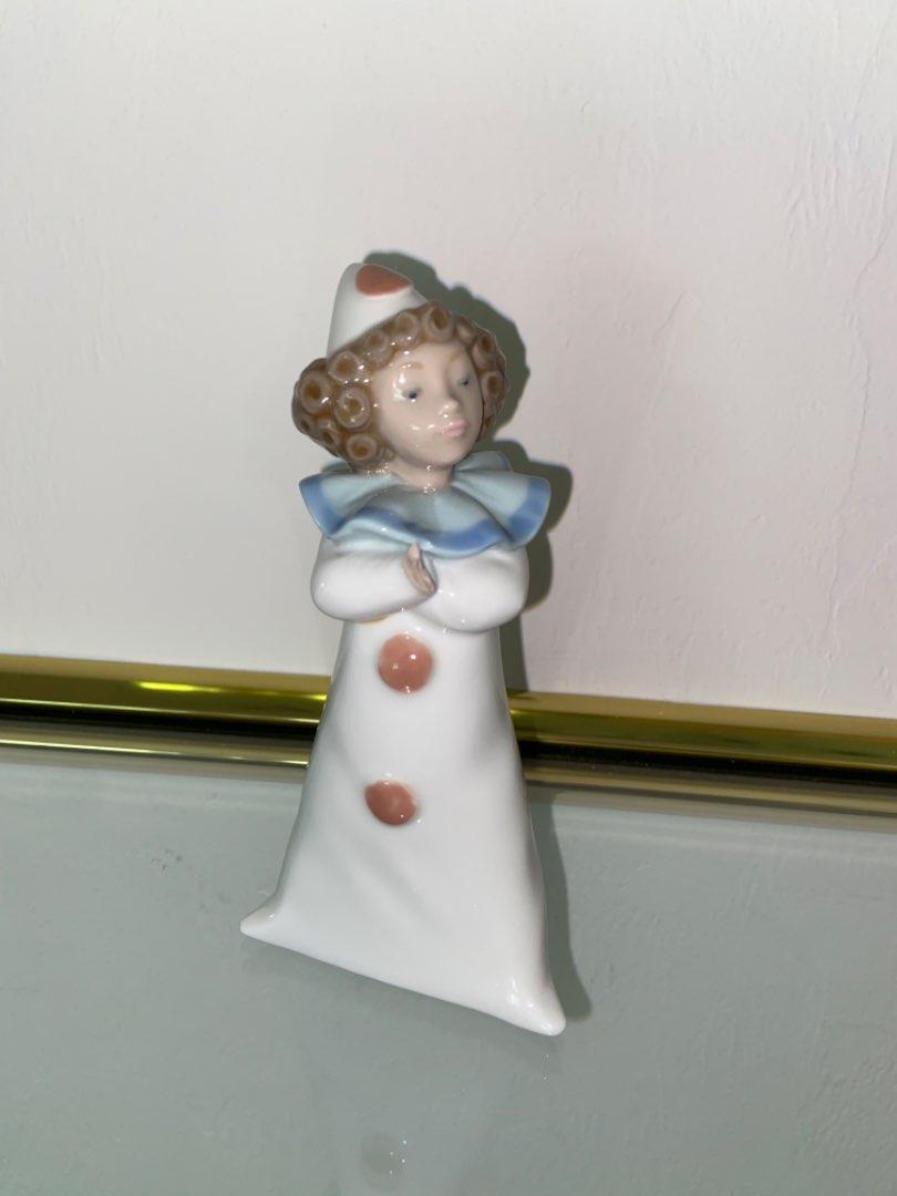 Lot # 353 Lladro Nao Clown Girl Figurine